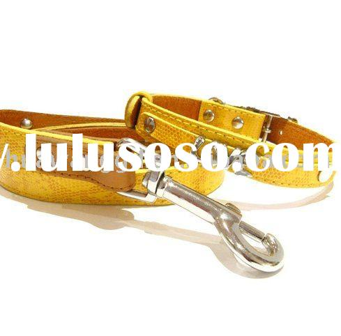 DIY name for big cat dog pet leash pet accesories with rhinestone buckle,letters and charms