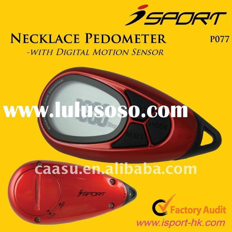 Professional Sport Digital 2D G Sensor Pocket Pedometer Promotions Gift/Multi Function Step Counter