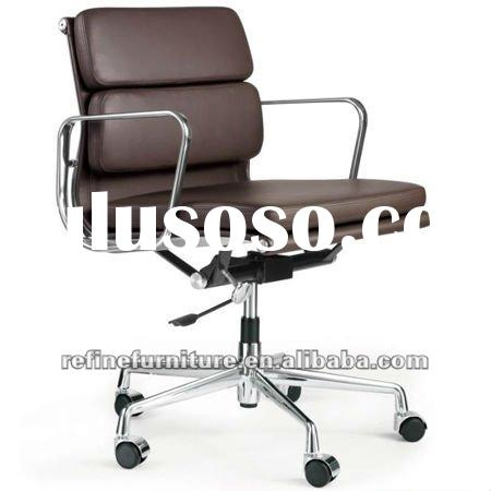 Italian Import White Leather Office Chair For Sale Price China Manufacturer