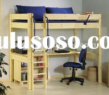 wooden solid wood furniture home bedroom furniture children furniture pine bunk bed