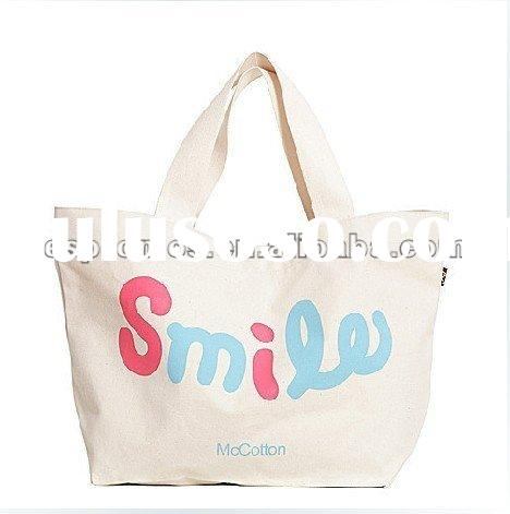 100% Unbleached Blank Canvas Totes Bag