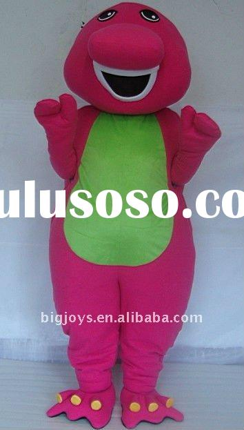 2012 Best sale BARNEY Mascot Costume Made in China