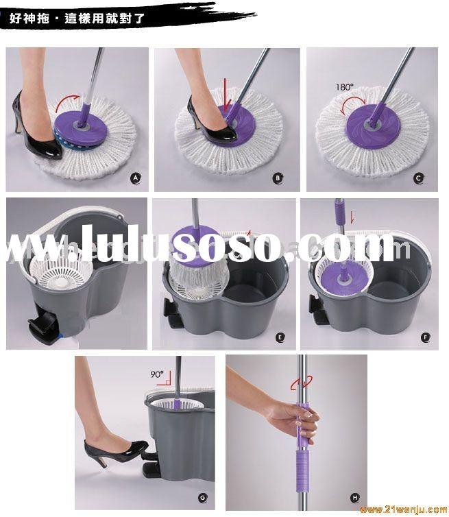360-degree rotating magic mop