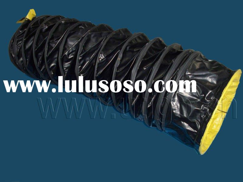 Anti-static pvc coated polyester fabric flexible duct hose