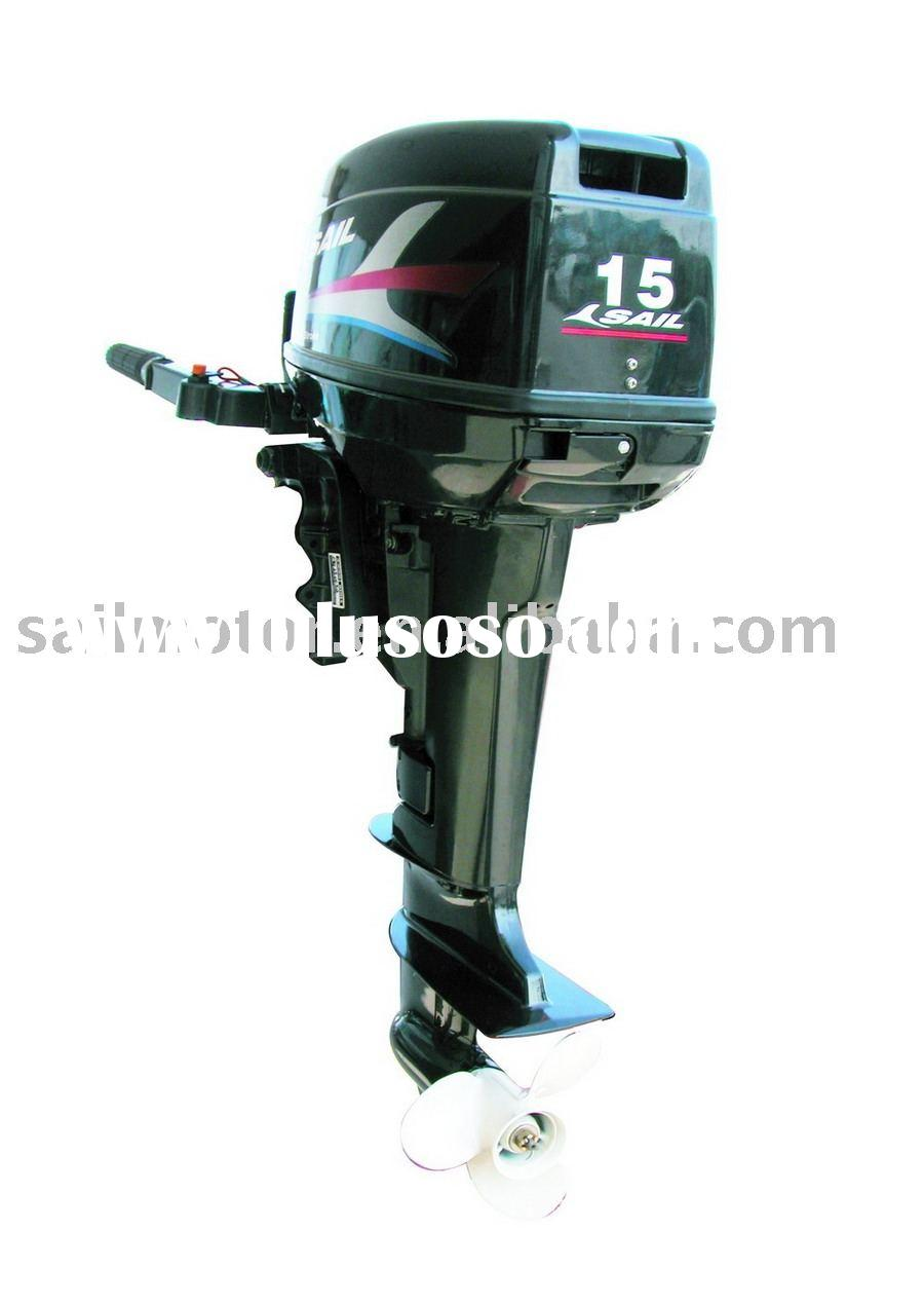 4 stroke 9 9hp outboard motor with electric start sail for Electric outboard motors for sale