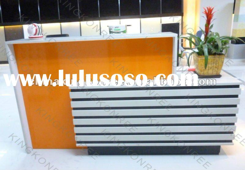 Good quality artificial stone reception desk
