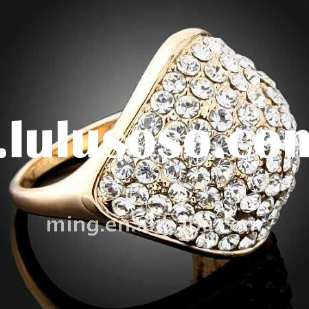 Hot Sale Fashion Golden Ring Jewelry Wholesale