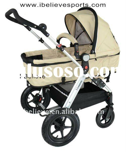 I-S025 European Standard High Quality and Comfortable Two Functions Baby Cart