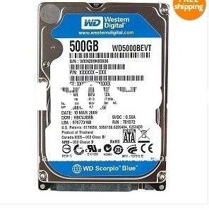 "WD 2.5"" 500GB SATA II Laptop Hard Disk Drive HDD FOR PS3"
