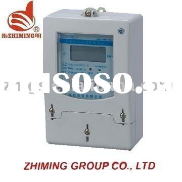 single phase electric inductive card prepaid meter