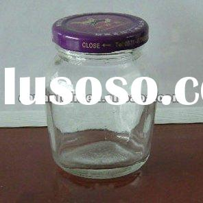 175ML Glass Jam Jar With Lid