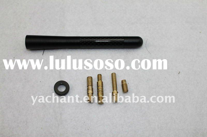 2011 Hot Selling Carbon Car Short Aerial Antenna Without logo Wholesale Universal