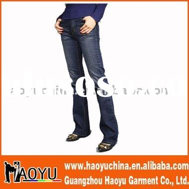 2011 hot sell new style fashion hottest brand jeans(HY5136)
