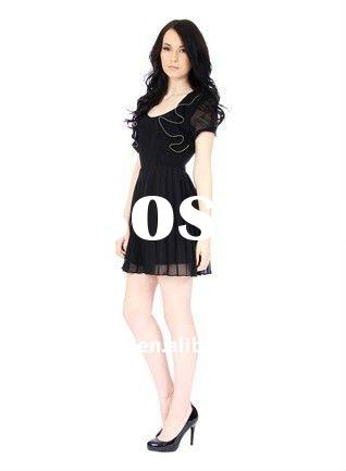 2011 newest fashion ladies casual dresses pictures