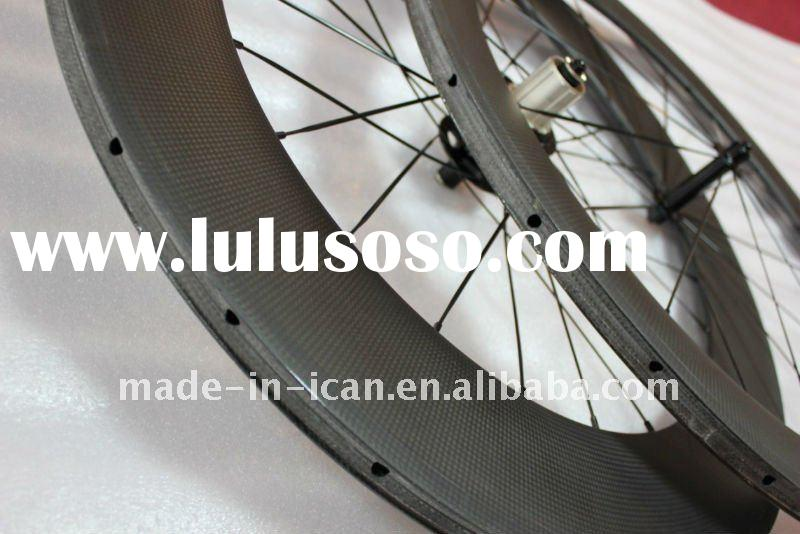 2012 High quality 60&88mm Tubular carbon wheelset
