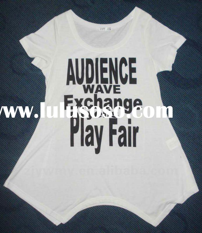 2012 Ladies T Shirt,Tee Shirt,printed Shirt,stylish clothing,embroidery clothing,OEM Tee Shirt,Your