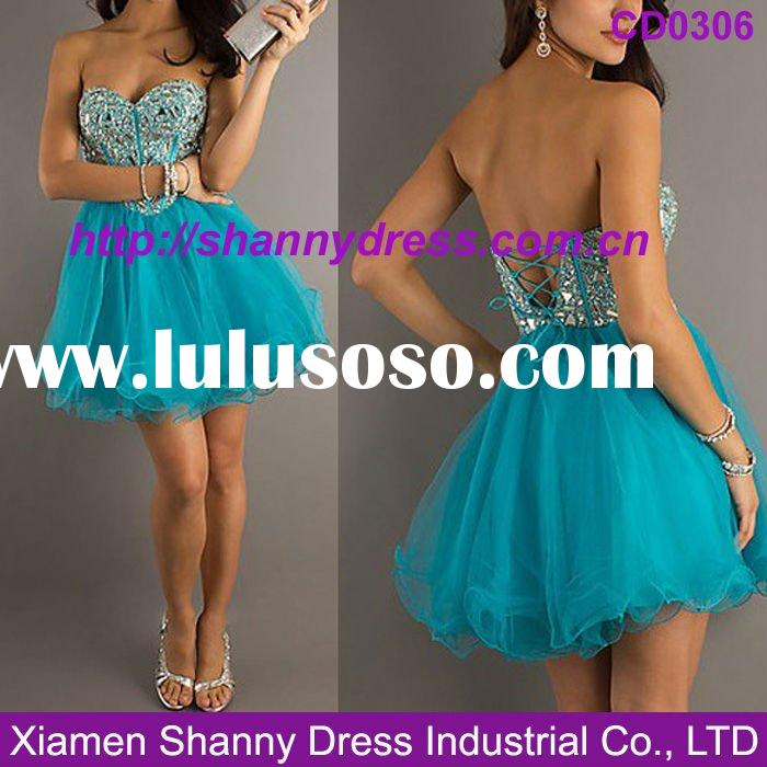 2012 hot sale beautiful girls party dresses