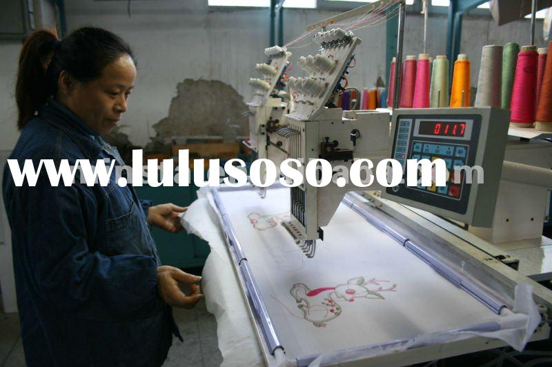 2012 hot sale embroidery machine for home