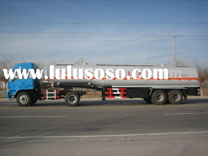 27400 liters water tank semi-trailer