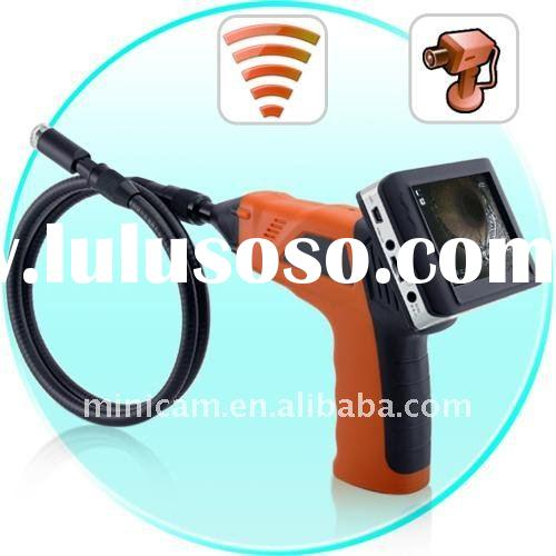 """3.5"""" LCD Snake tube camera, industrial inspection Camera with high resolution tools camera DVR"""