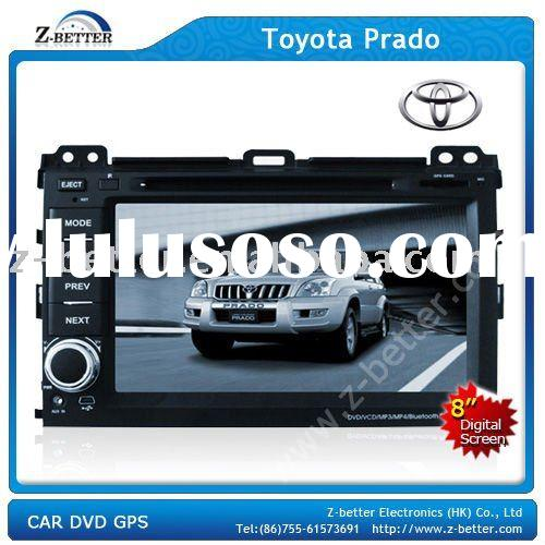 8 inch Car DVD for Toyota Prado with GPS navigation system