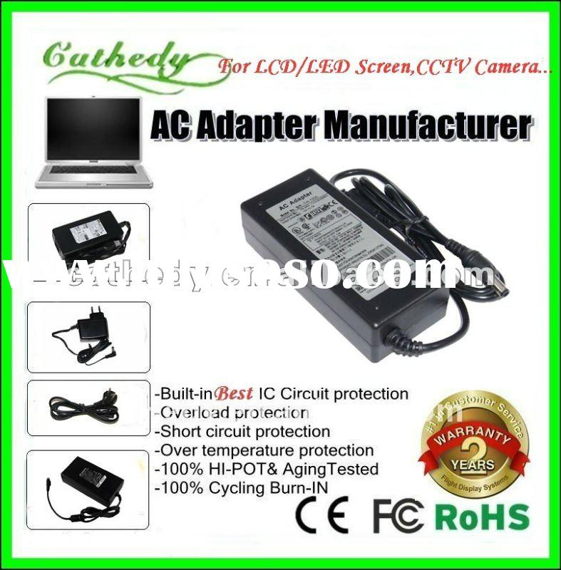 AC 100-240V To DC 12V 5A Power Supply Adapter For 5050 SMD LED RGB Strip L509