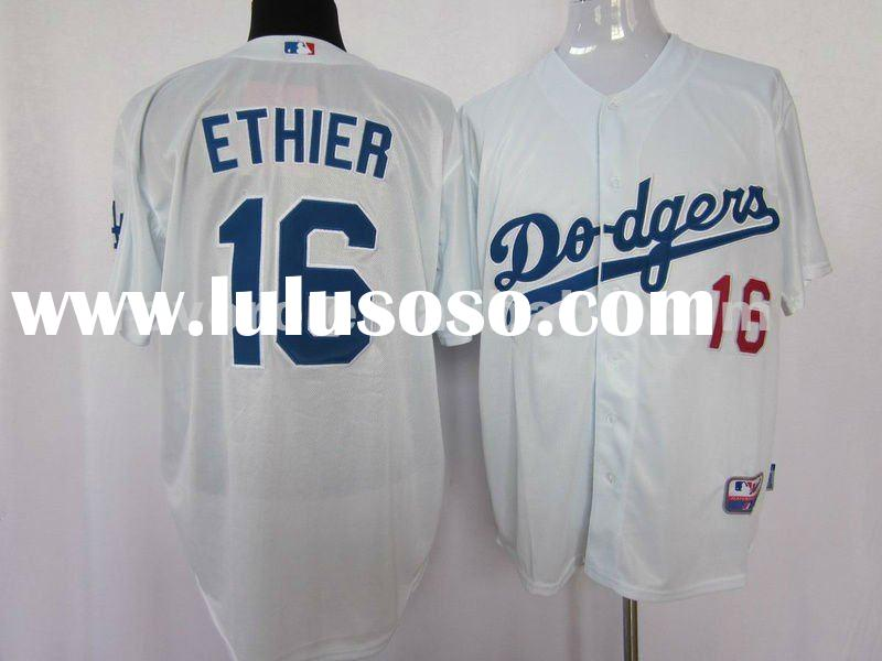 Accept Paypal Los Angeles Dodgers Sewn on Baseball Jerseys