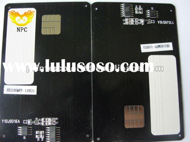 Auto reset smart cards remanufactured for konica 1600f copier
