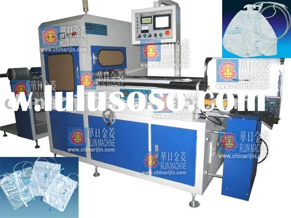 Automatic high frequency urine bag forming machine