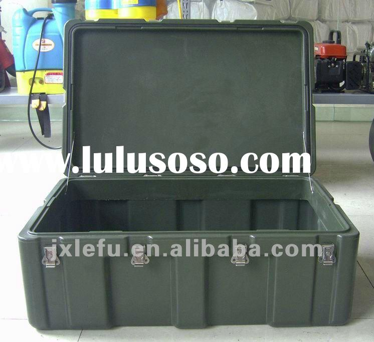 Cheap!!!!/large plastic box/durable storage case/military large tool case
