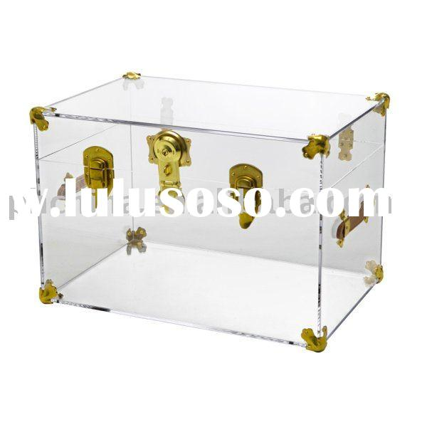 Clear Acrylic Trunk;Clear Acrylic Display Box;Clear Acrylic Display Case
