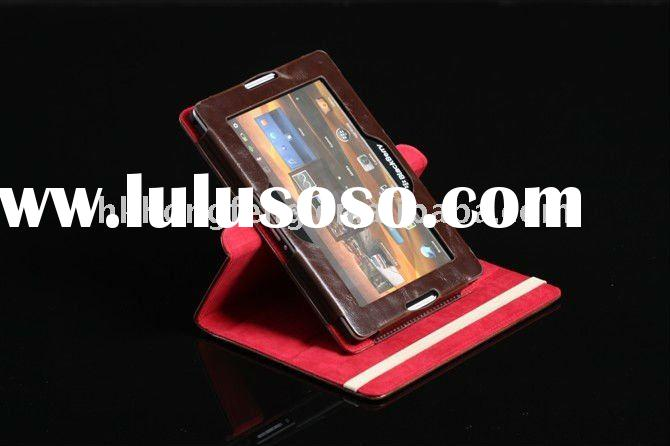 Cover Case for blackberry tablet PC protective case with 360 Degree Rotation