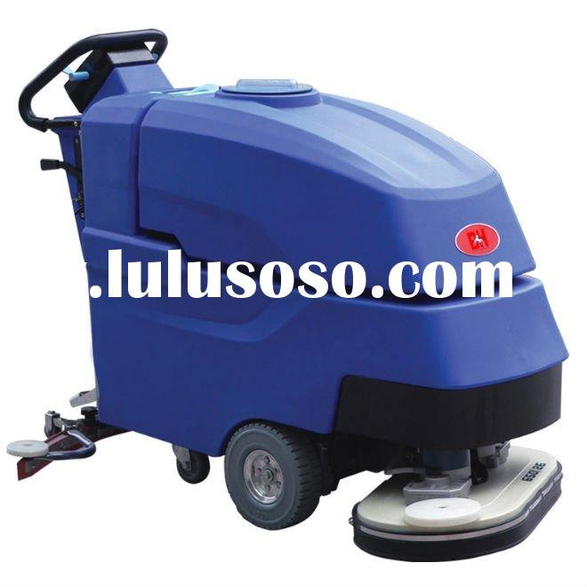 Dual-brush ground cleaning machine,brush machine