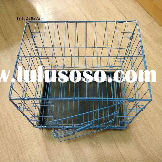 Foldable metal wire pet crate (dog, cat, hamster, rubbit, chicken, dove cage)