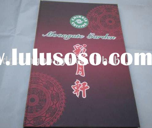 High quality Exquisite restaurant menu