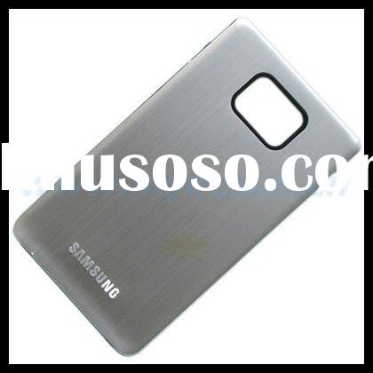 Metal Back Plate Battery Cover for Samsung Galaxy S2 II i9100 - Silver