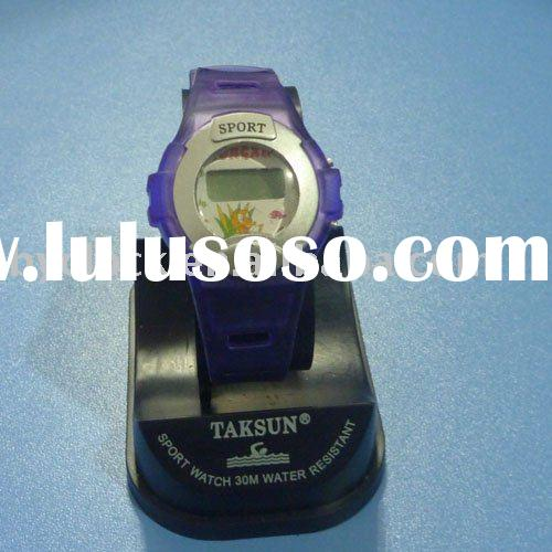 Most popular-2012 Plastic watch for kids