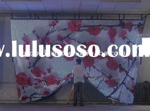 P50---Flexible LED Curtain Display