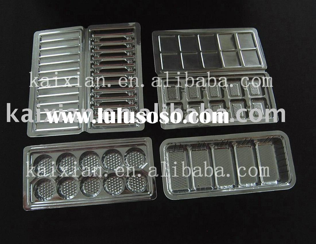 PET disposable plastic tray