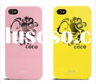 PROTECT COVER COCO BEAUTY GIRL FACE CASE For Iphone 4G 4S FEDEX DHL PAYPAL