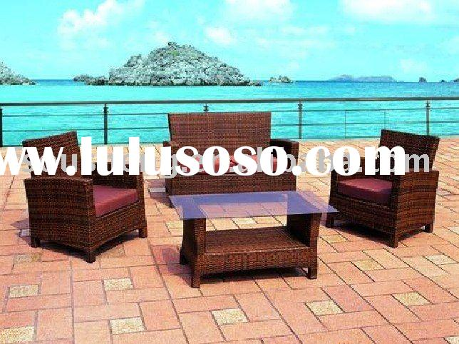 Red Metal Outdoor Furniture Camping Table