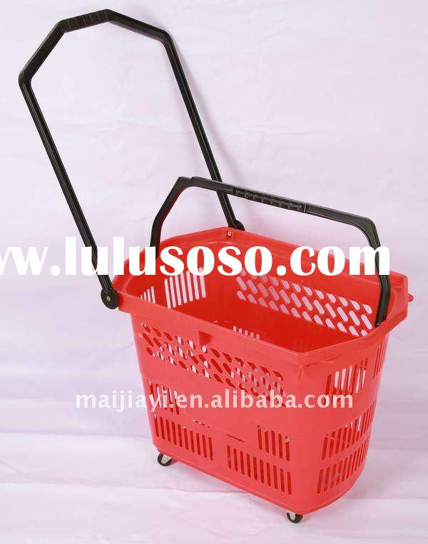 Rolling shopping basket MJYI-RB-05