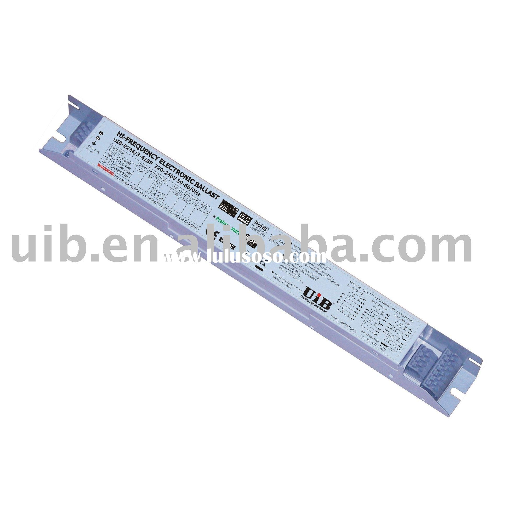 sell preheat start eup electronic ballast 2x36w for sale price china manufacturer supplier 1486472
