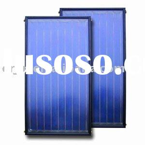 Solar water heater--pressurized flat plate solar collector