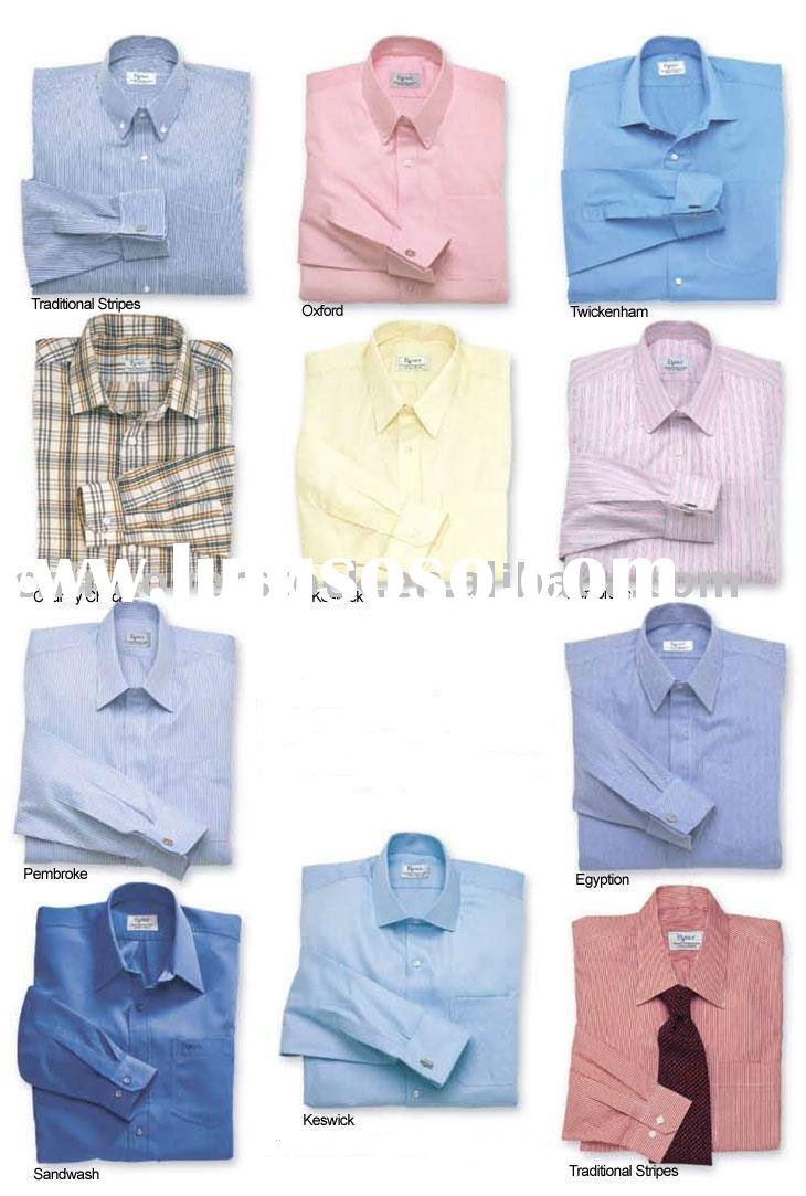 Stocklots/Stocklot/Stock bulk quality dress shirts/stripe shirt/business shirts