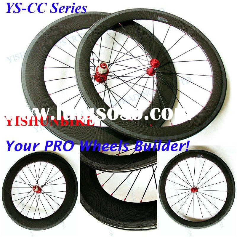 T700C superlight and high quality 60mm carbon road bike clincher wheels