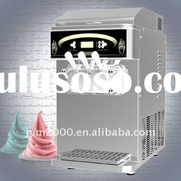Table top Soft Ice cream machine with Air-pump