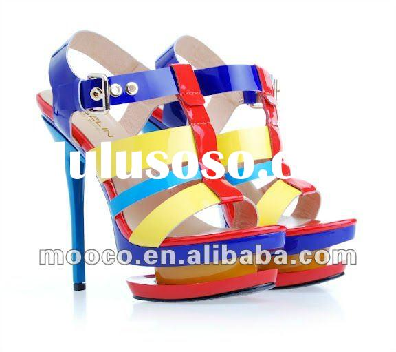 Top quality women shoes fashion sandals summer 2012