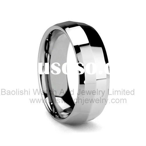 Tungsten carbide Wedding bands Rings