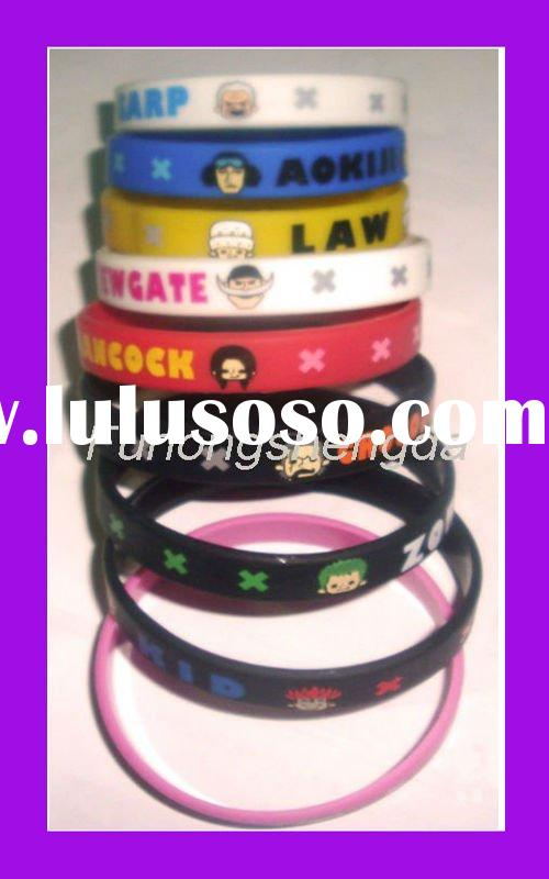 cartoon silicone bracelet